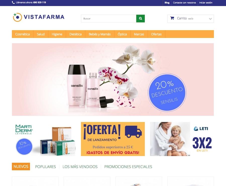 tienda online vistafarma